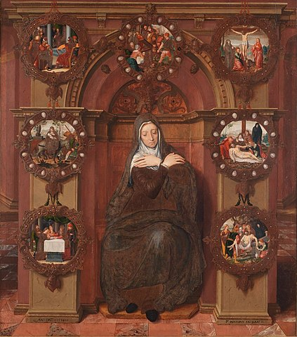 Our Lady of Sorrows, by Pieter Pourbus, 1556